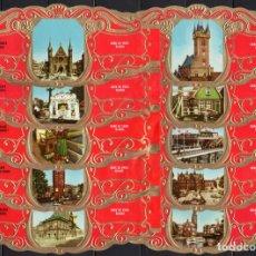 Anéis de charuto de coleção: DERK DE VRIES, VISTAS DE HOLANDA, SERIE 23, GRAN FORMATO, 10 VITOLINAS, SERIE COMPLETA.. Lote 272740578