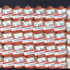 Anéis de charuto de coleção: DRIDO, MUNDIAL DE FUTBOL 1974, SERIE 3ª, 40 VITOLAS, SERIE COMPLETA.. Lote 272961898