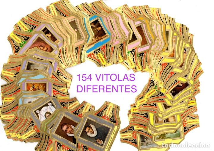BONITO LOTE COMPUESTO POR 154 CUADROS DE PINTORES TODOS DIFERENTES, NO SON SERIES COMPLETAS (Coleccionismo - Objetos para Fumar - Vitolas)