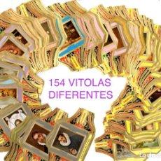 Vitolas de colección: BONITO LOTE COMPUESTO POR 154 CUADROS DE PINTORES TODOS DIFERENTES, NO SON SERIES COMPLETAS. Lote 34480189