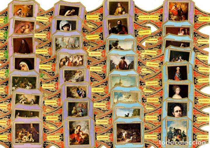 Vitolas de colección: BONITO LOTE COMPUESTO POR 154 CUADROS DE PINTORES TODOS DIFERENTES, no son series completas - Foto 3 - 34480189