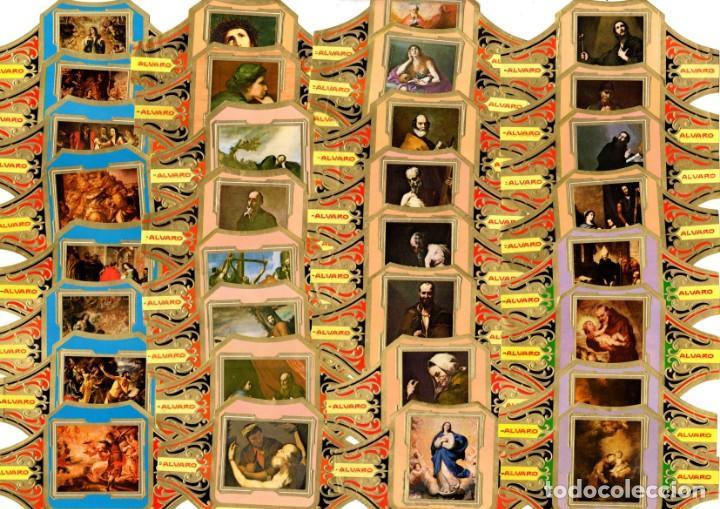 Vitolas de colección: BONITO LOTE COMPUESTO POR 154 CUADROS DE PINTORES TODOS DIFERENTES, no son series completas - Foto 4 - 34480189