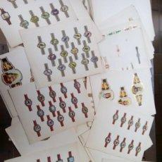 Vitolas de colección: COLECCION DE VITOLAS MONTADAS EN 112 PAG CON APROX 650 UNIDADES ,. Lote 275091448