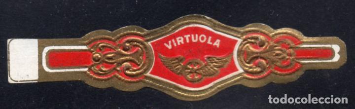 VITOLA CLASICA: 235063, TEMA RUEDAS ALADAS, VIRTUOLA (Coleccionismo - Objetos para Fumar - Vitolas)