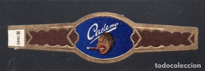 VITOLA CLASICA: 235064, TEMA PERSONAJES, CADENA, TALON H.S.11882 (Coleccionismo - Objetos para Fumar - Vitolas)