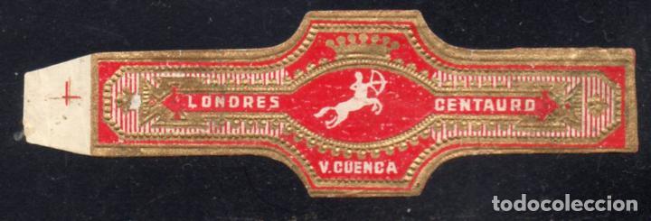 VITOLA CLASICA: 235072, TEMA MITOLOGIA, CENTAURO, LONDRES, V. CUENCA (Coleccionismo - Objetos para Fumar - Vitolas)
