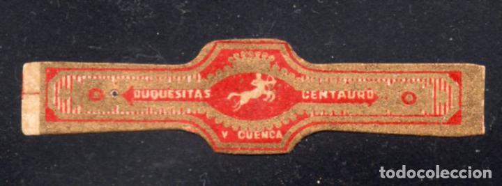 VITOLA CLASICA: 235073, TEMA MITOLOGIA, CENTAURO, DUQUESITAS, V. CUENCA (Coleccionismo - Objetos para Fumar - Vitolas)