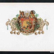 Vitolas de colección: VITOLA, ORIGINAL LITOGRAFÍA. LA ESTIVA (UNTITLED). TEMÁTICA: INDIOS.. Lote 277711163