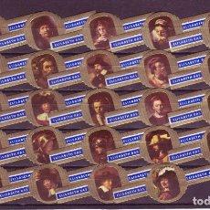 Vitolas de colección: ELISABETH BAS, REMBRANDT, SERIE D, 24 VITOLAS, SERIE COMPLETA.. Lote 278199978