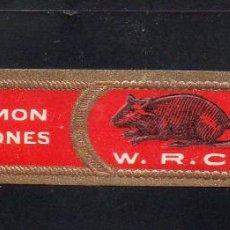 Vitolas de colección: VITOLA CLASICA: 121033, TEMA FAUNA, MAMIFEROS, W.R.C. RAMON ALLONES, CUBA. Lote 288324573
