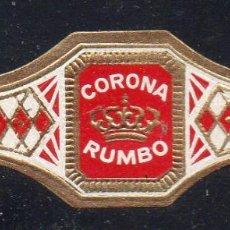 Vitolas de colección: VITOLA CLASICA: 122008, TEMA CORONAS, CORONA, RUMBO, ISLAS CANARIAS.. Lote 288325078