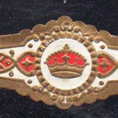 Vitolas de colección: VITOLA CLASICA: 122009, TEMA CORONAS, RUMBO, ISLAS CANARIAS.. Lote 288325118