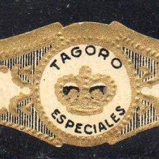 Vitolas de colección: VITOLA CLASICA: 122014, TEMA CORONAS, ESPECIALES, TAGORO, ISLAS CANARIAS.. Lote 288325293