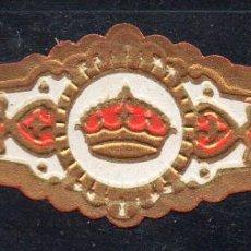 Vitolas de colección: VITOLA CLASICA: 162010, TEMA CORONAS, RUMBO, ISLAS CANARIAS.. Lote 294018533