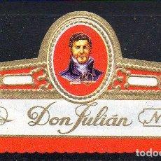 Vitolas de colección: VITOLA CLASICA: 162012, DON JULIAN Nº 5, ISLAS CANARIAS.. Lote 294018643