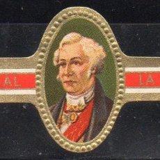 Vitolas de colección: VITOLA CLASICA: 162016, MARISCALES, LA BELLEZA, ISLAS CANARIAS.. Lote 294018843