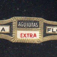 Vitolas de colección: VITOLA CLASICA: 162027, AGUILITAS EXTRA, ISLAS CANARIAS.. Lote 294019358