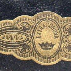Vitolas de colección: VITOLA CLASICA: 162028, EXTRACORONA, MARUXIÑA, ISLAS CANARIAS.. Lote 294019403
