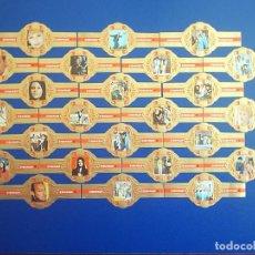 Vitolas de colección: STOMPKOP, LUCY BALL, 24 VITOLAS, SERIE COMPLETA.. Lote 295270868