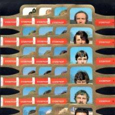 Vitolas de colección: STOMPKOP, MUNDIAL DE FUTBOL 1982, GRAN FORMATO, 24 VITOLINAS, SERIE COMPLETA.. Lote 295270923