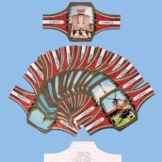 Vitolas de colección: SERIE COMPLETA DE 24 VITOLINAS - MARAVILLAS MUNDIALES - MARCA TABACOS CAPOTE (CANARIAS). Lote 295365313