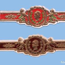 Vitolas de colección: 2 VITOLAS ANTIGUAS - SIN MARCA DE PROCEDENCIA USA - TEMÁTICA MUJERES. Lote 295905383