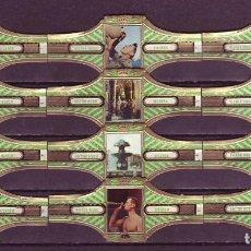 Vitolas de colección: VICTOR HUGO, ITALIA, VERDE, 12 VITOLAS, SERIE COMPLETA.. Lote 296810418