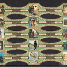 Vitolas de colección: VICTOR HUGO, NAPOLEON, SERIE 14, 15 VITOLAS, SERIE COMPLETA.. Lote 296810808