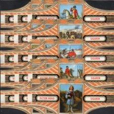 Vitolas de colección: VICTOR HUGO, NAPOLEON, SERIE 14, GRAN FORMATO, 15 VITOLINAS, SERIE COMPLETA.. Lote 296810863