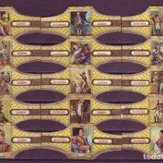 Vitolas de colección: VICTOR HUGO, NAPOLEON, SERIE 20, 15 VITOLAS, SERIE COMPLETA.. Lote 296810958