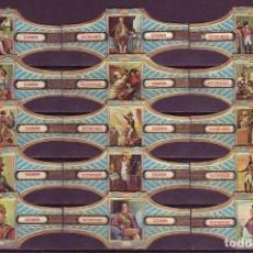Vitolas de colección: VICTOR HUGO, NAPOLEON, SERIE 23, 15 VITOLAS, SERIE COMPLETA.. Lote 296811533