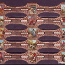 Vitolas de colección: VICTOR HUGO, NAPOLEON, SERIE 24, 15 VITOLAS, SERIE COMPLETA.. Lote 296811568