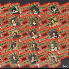 Vitolas de colección: ALTO, RETRATOS DE FRANS HALS, 24 VITOLAS, SERIE COMPLETA.. Lote 296813523
