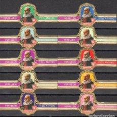Vitolas de colección: VERELLEN, ARCOIRIS, SERIE 4ª B, 10 VITOLAS, SERIE COMPLETA.. Lote 296813913