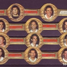 Vitolas de colección: CLUB, ANTWERP F.C. (FUTBOLISTAS) 11 VITOLAS, SERIE COMPLETA.. Lote 296813978