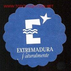 Coleccionismo: POSAVASOS - EXTREMADURA NATURALMENTE. Lote 46558419