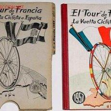 Coleccionismo: EL TOUR DE FRANCIA Y LA VUELTA CICLISTA A ESPAÑA 1957 - SUPER RARO ¡¡¡¡¡. Lote 27488707