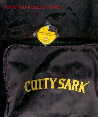 MECHERO Y BOLSA ** CUTTY SARK ** (AÑO 2000) (Coleccionismo - Varios)
