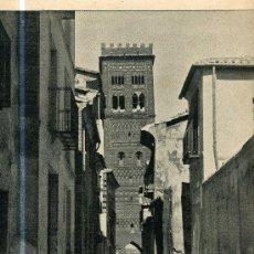 Coleccionismo: LAMINA FOTOGRAFICA DE LA TORRE DE SAN MARTIN. TERUEL. PRIN. S. XX. Lote 3593784