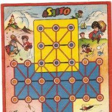 Coleccionismo: ASALTO / DIB. SABATES ( TABLERO DE JUEGO ) 28 X 20 CM.. Lote 4802036