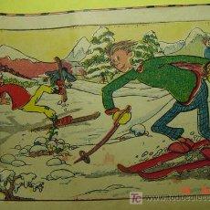 Coleccionismo: 9927 ESQUI ESQUIADOR CARICATURA AÑOS 1930-40 - COSAS&CURIOSAS. Lote 5235521