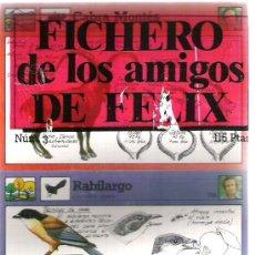 Coleccionismo: FICHERO DE LOS AMIGOS DE FELIX - NUMERO 3. Lote 5910941