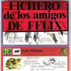Coleccionismo: FICHERO DE LOS AMIGOS DE FELIX- NUMERO 4 A ESTRENAR. Lote 5910958