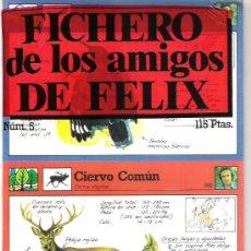 Coleccionismo: FICHERO DE LOS AMIGOS DE FELIX - NUMERO 5 - A ESTRENAR. Lote 5910970