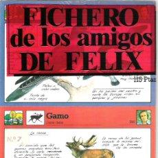Coleccionismo: FICHERO DE LOS AMIGOS DE FELIX - NUMERO 7 A ESTRENAR. Lote 5910995