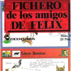 Coleccionismo: FICHERO DE LOS AMIGOS DE FELIX - NUMERO 8 A ESTRENAR. Lote 5911012