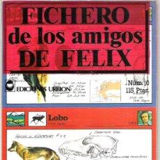 Coleccionismo: FICHERO DE LOS AMIGOS DE FELIX NUMERO 10 A ESTRENAR. Lote 5911027