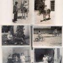 Coleccionismo: AQUELLO SI ERA JUGAR. 6 FOTOGRAFÍAS, BLANCO Y NEGRO, NIÑOS. AÑOS 50-60. Lote 27186556