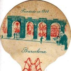 Coleccionismo: PAY-PAY DEL RESTAURANTE 7 PUERTAS DE BARCELONA-VIEJO-FUNDADO EN 1844. Lote 20800316