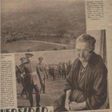 Coleccionismo: HOJA NOTICIA. 1936-1939. LOS MINEROS ASTURIANOS EN LA GUERRA CIVIL ESPAÑOLA. RECLUTAMIENTO. . Lote 6733272